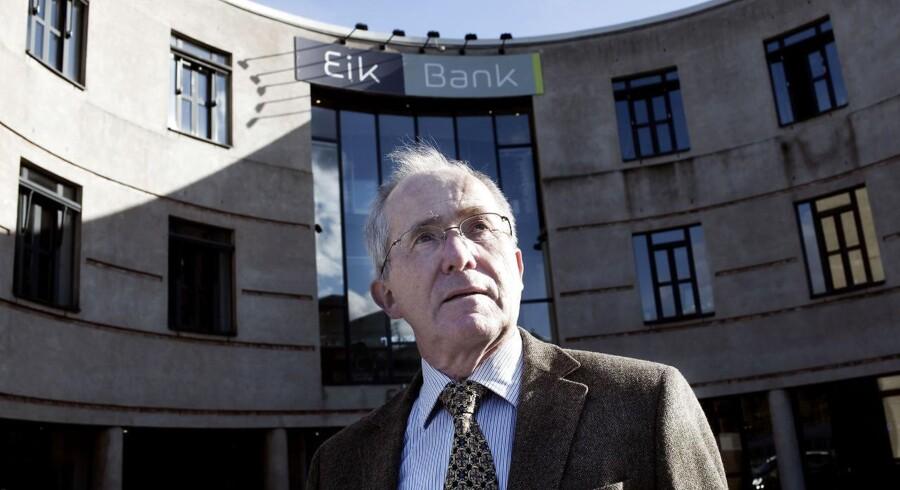 Jørn Astrup Hansen, pensioneret bankdirektør og den danske stats udsendte mand til at rydde op i Eik Bank, fik ret i, at Eik Bank ikke havde ret til et skattefradrag til en værdi af 90 millioner kroner.