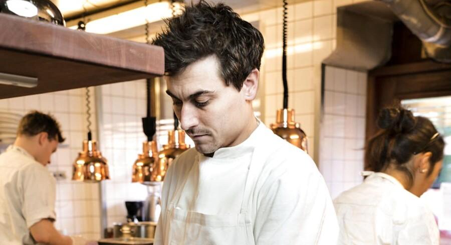 Køkkenchef på kokkeriet, David Johansen