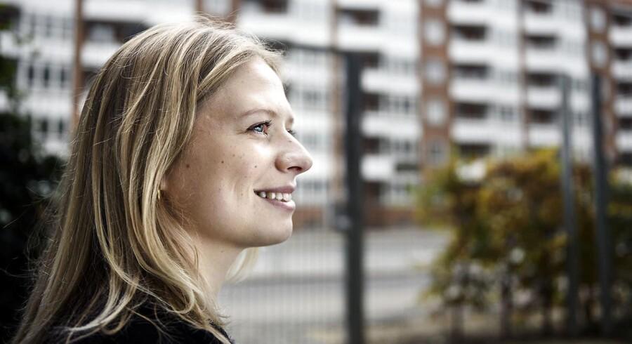 Sofie Larsson er farmaceut-studerende og har meldt sig til et valgfag på Københavns Universitet, som er sponsoreret af den amerikanske medicinalgigant Bristol-Myers Squibb.