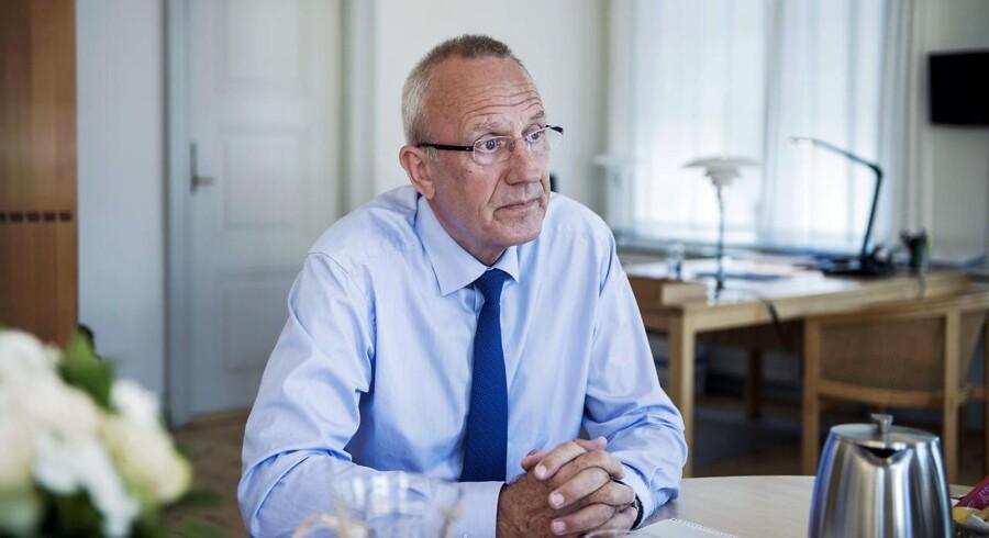 Beskæftigelsesminister Jørn Neergaard Larsen-