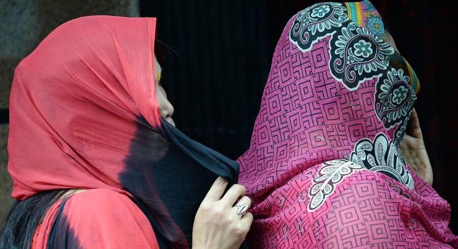 ARKIVFOTO af indiske sexarbejdere i Mumbai 2015.