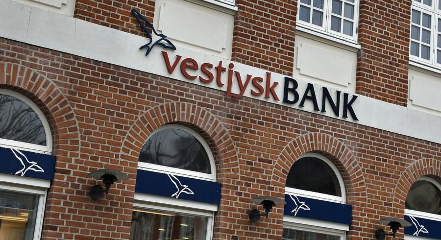 Arkivfoto. Vestjysk Bank i Lemvig.