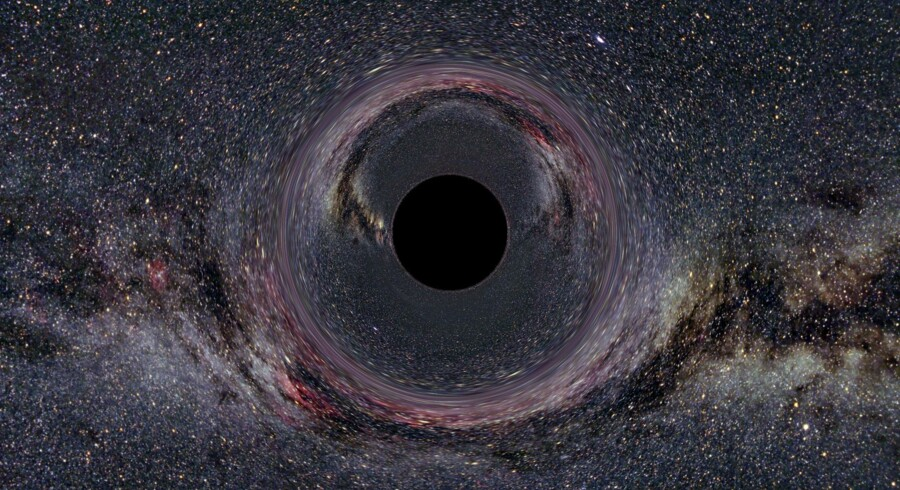 Sort hul. Ill.: Gallery of Space Time Travel/NASA