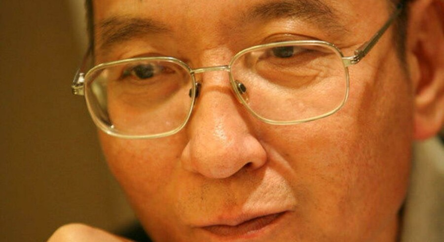 FILE PHOTO: Chinese dissident Liu Xiaobo is seen in this undated photo released by his families. Handout via REUTERS/File Photo ATTENTION EDITORS - THIS IMAGE HAS BEEN SUPPLIED BY A THIRD PARTY. NOT FOR SALE FOR MARKETING OR ADVERTISING CAMPAIGNS.