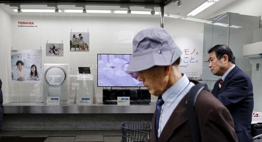 Toshiba kæmper med eftervirkningerne af afsløringen af oppumpede regnskaber. Arkivfoto: Toru Hanai, Reuters/Scanpix