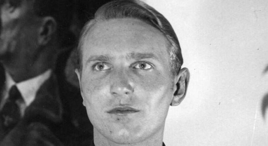 Udateret arkivbillede fra 1940-45 af Søren Kam. Foto: Scanpix