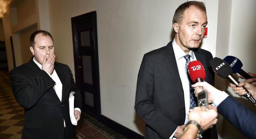 DF's Martin Henriksen (tv) og Peter Skaarup