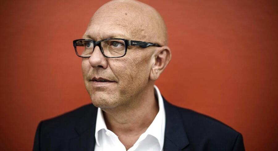 Coop, der står bag kæder som Fakta, Brugsen og Irma, vil have danskerne til at købe dyrere mad. Her ses topchefen Peter Høgsted.