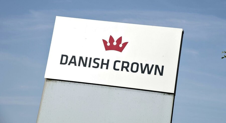 Danish Crown slagteri ved Horsens .