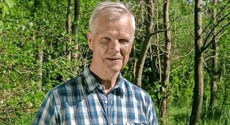 Tom Kähler. Et yderst privat menneske, der har stået i spidsen for en af landets store virksomheder. Privatfoto