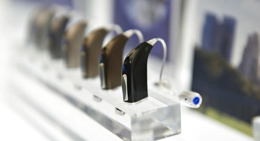 Høreapparater fra Oticon.