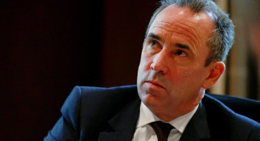 Eric Olsen, administrerende direktør for LafargeHolcim, har sagt op efter en enorm skandale, hvor selskabet er anklaget for at have betalt beskyttelsespenge til Islamisk Stat. (arkivfoto) Reuters/Arnd Wiegmann