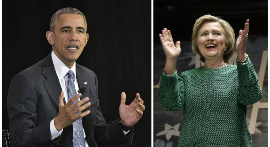 Hillary Clinton bragte ikke USAs sikkerhed i fare, da hun som udenrigsminister brugte en privat e-mailserver i forbindelse med sit arbejde, fastslår præsident Obama.