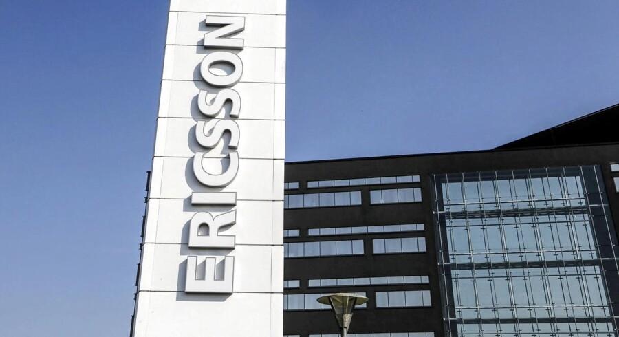 Ericsson kommer ud af tredje kvartal bedre end ventet.