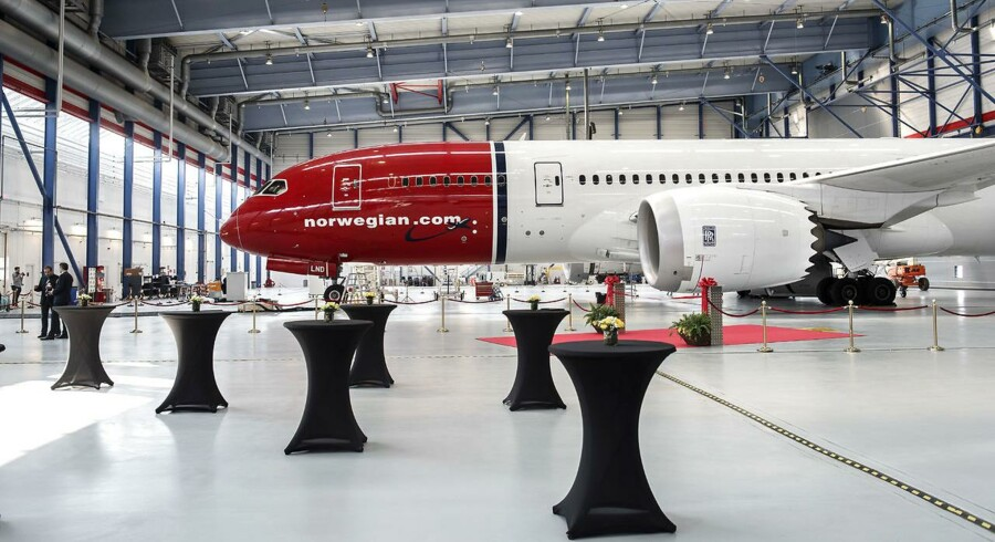 ARKIVFOTO 2015 af Norwegian fly Dreamliner i Københavns Lufthavn- (Foto: Niels Ahlmann Olesen/Scanpix 2017)