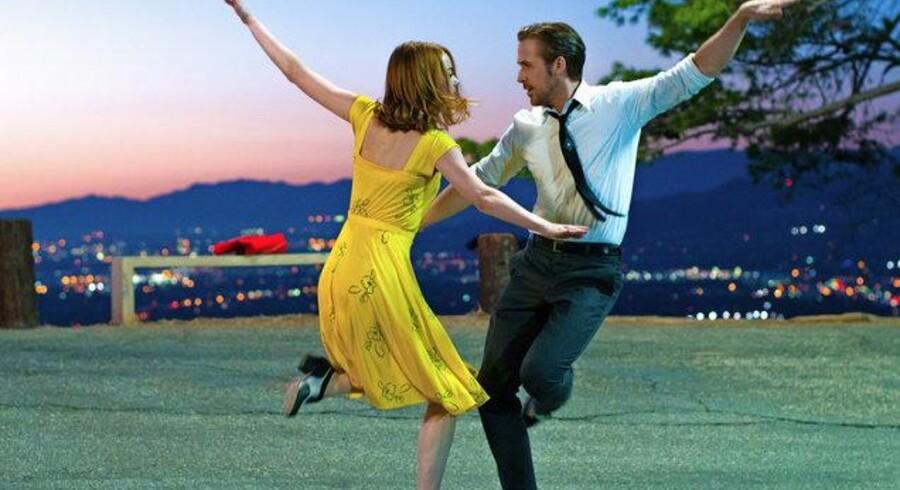 Emma Stone og Ryan Gosling hylder Hollywood på fornemste vis i Damien Chazelles originale og forførende musical »La La Land«, der er nomineret til hele 14 Oscars