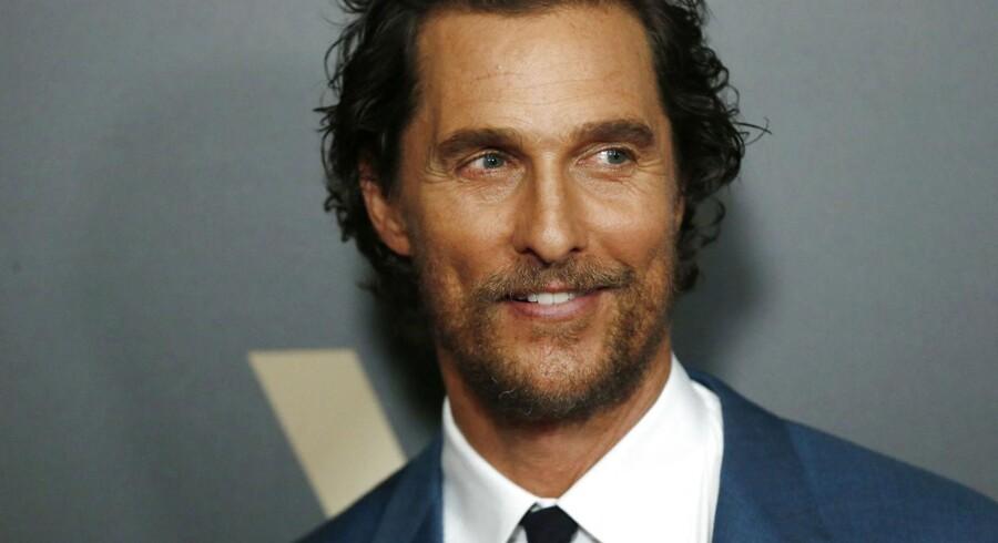 "Arkivfoto. Selv om Matthew McConaugheys navn prydede plakaten på ""Free State of Jones"", var filmen en økonomisk fiasko."