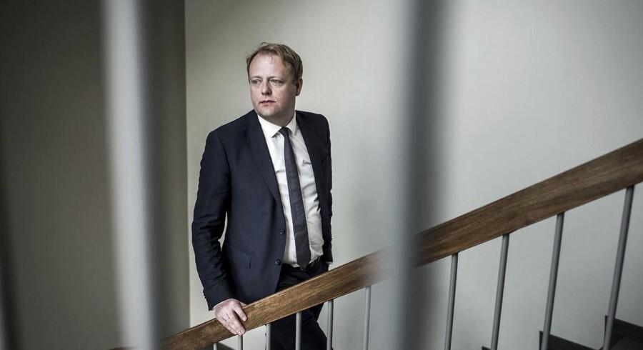 Statsadvokat og chef for Bagmandspolitiet, Morten Niels Jakobsen, bekræfter, at der har været foretaget en ransagning af en tysk bank i forbindelse med skattesvindelsagen på over 12 mia. kr.