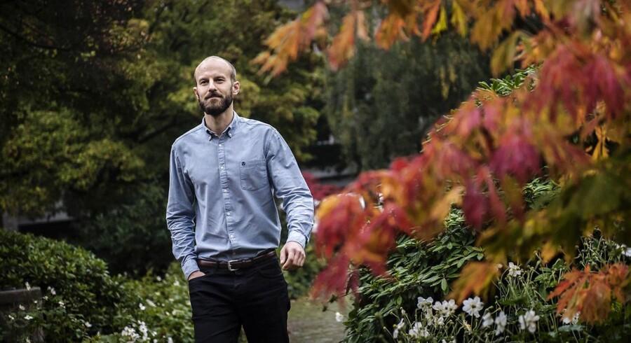 Emil Axelsen. 32-årige Emil Axelsen skiftede fra det private erhvervsliv til det offentlige.