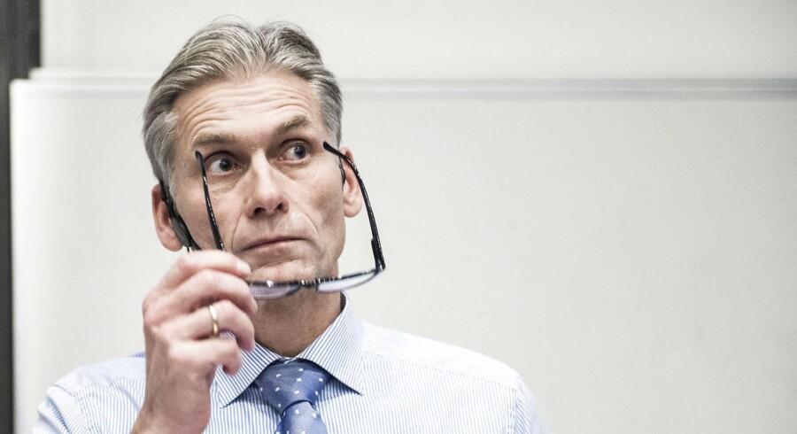 Thomas F. Borgen, adm. direktør i Danske Bank. Arkivfoto: Anne Bæk / Ritzau Scanpix.