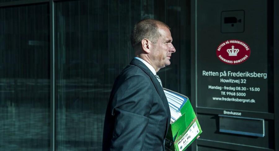 Forsvarer Michael Juul Eriksen Fotograferet d. 2 september 2014