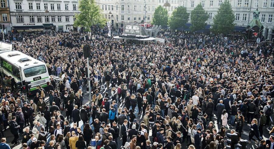 Distortion kommer til at sætte sit præg på København fra onsdag til og med lørdag. Arkivfoto fra sidste år.