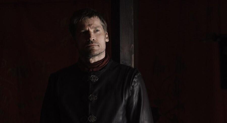 Den dobbelte mand: Nikolaj Coster-Waldau skal styre sin rolle som Jaime Lannister i TV-serien ?»Game of Thrones« mellem lys og skygge – og i nyeste afsnit er han rigtig god. PR-foto: HBO Nordic