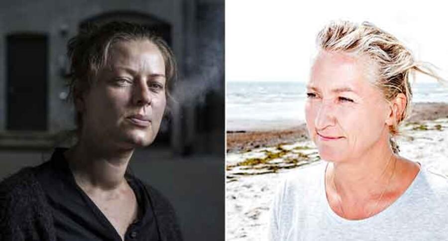 Tv: Karina pedersen. Th: Lisbeth Zornig Andersen