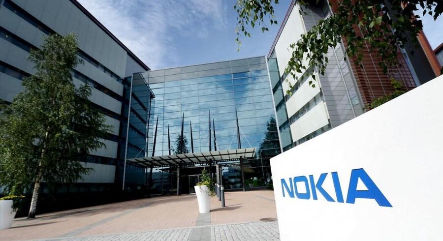 Halvdelen af de stillinger, som skal nedlægges, er i Nokias hjemby, Espoo, hvor hovedkvarteret ligger. Arkivfoto: Mikko Stig, Lethikuva/Reuters/Scanpix