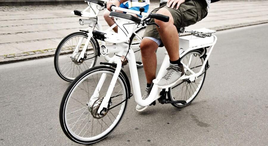Arkivfoto: Elcykler bliver mere og mere populære herhjemme.