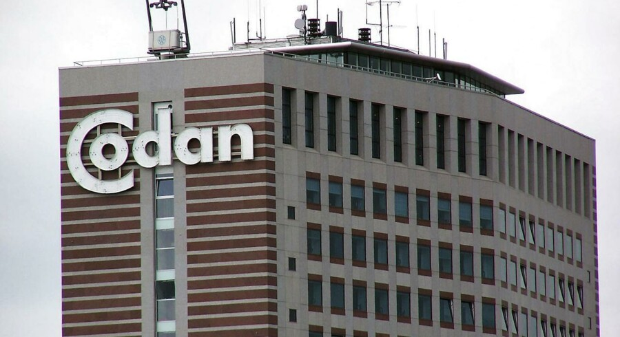 Codan logo på Codans hovedsæde på Gl. Kongevej, Frederiksberg, juni 2004.