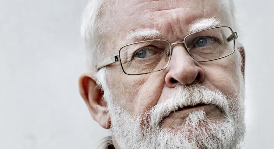 Forfatter og islamkritiker Lars Hedegaard. (Foto: Bax Lindhardt)