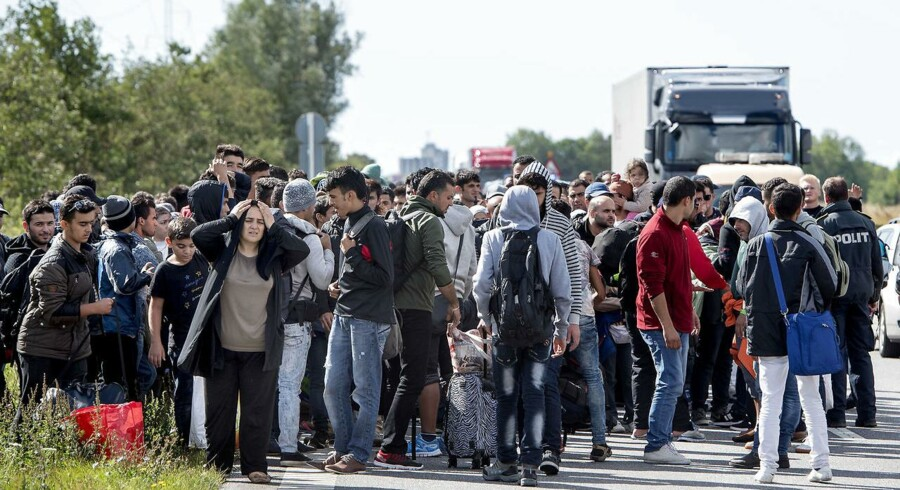 ARKIV. Socialdemokratiet sikrer regeringen flertal til at ændre udlændingeloven, så det bliver nemmere at sige nej til at tage imod kvoteflygtningene i FN-systemet, skriver Ritzau tirsdag den 28. november 2017..