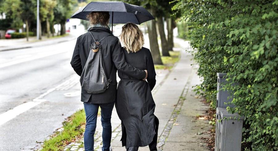 En enkelt dag i ugen byder på 25 grader, men ellers ser regnen ud til at være kommet for at blive.