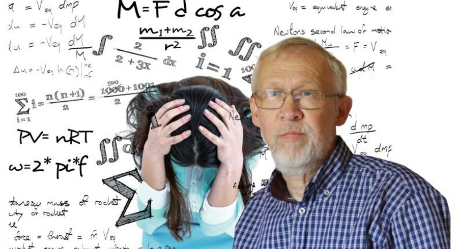 Leif H. Andersen, lektor emeritus med fagene fysik og matematik