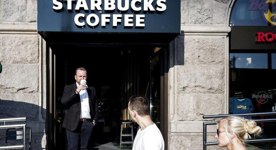 Michael Hald, fotograferet i Starbucks på Rådhuspladsen.