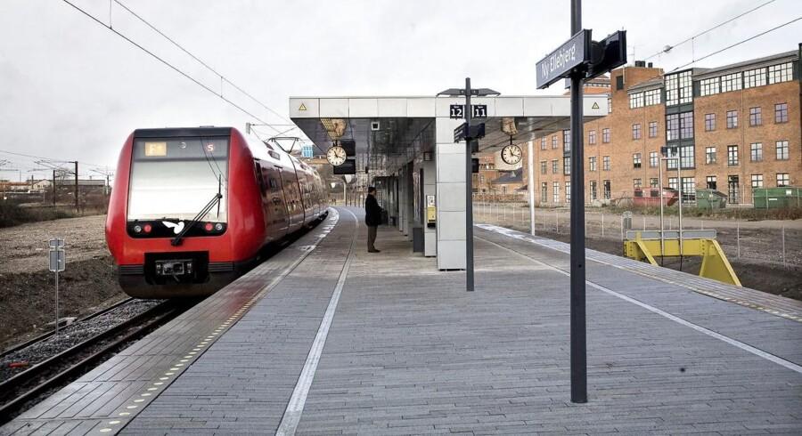 En kvinde blev fredag morgen forsøgt vodltaget på Ny Ellebjerg Staiton.
