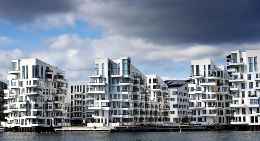 Nybyggerier i København. Her er det lejligheder i Sydhavnen. Havneholmen.. (Foto: Bax Lindhardt/Scanpix 2017)