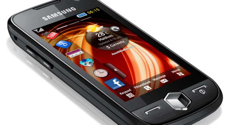 Samsungs nye Jet-telefon er udstyret med en energibesparende OLED-skærm.