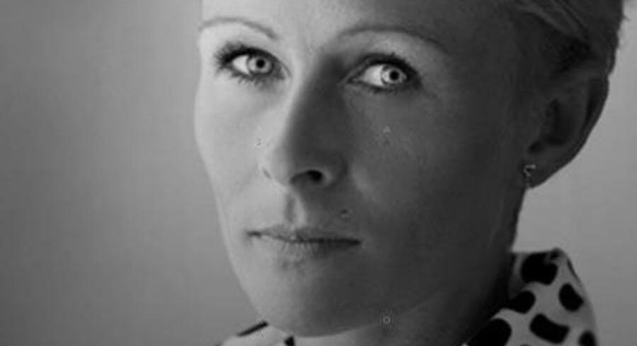 Udsnit af coveret af Malene Lauritsens »Brev til mor«.