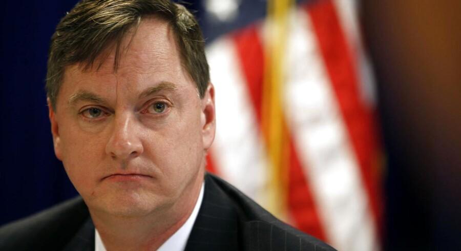 Chefen for den amerikanske centralbanks afdeling i Chicago, Charles Evans.