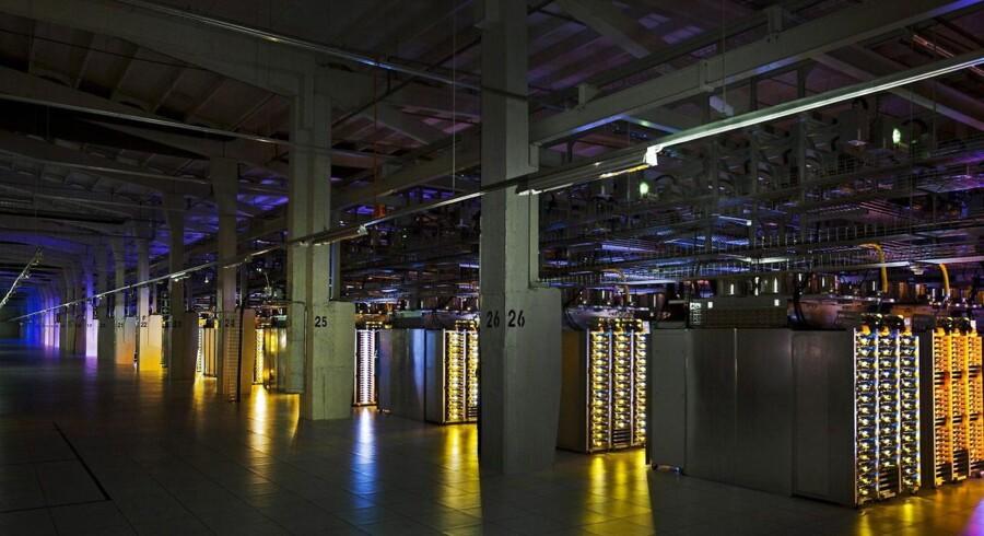 I Hamina i Finland står et af Googles tre europæiske datacentre, og data, der lagres her, sorterer under europæisk og ikke amerikansk lovgivning, fastholder internetgiganten. Arkivfoto: Google/EPA/Scanpix