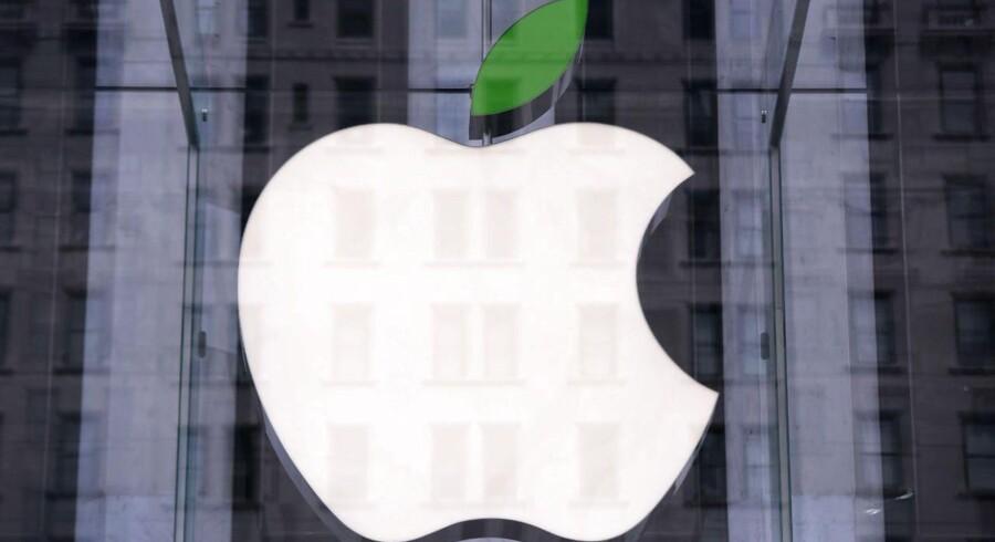 Det grønne strejf bliver stadig vigtigere for IT-giganterne, hvad Apples beslutning om at slå sig ned i Viborg er endnu et konkret eksempel på. Arkivfoto: John Moore, Getty Images/AFP/Scanpix