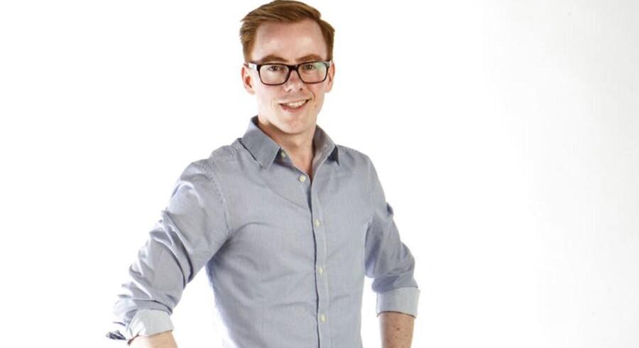 Jonas Stenbæk Christoffersen er redaktør på Berlingskes børneavis, Kids' News.