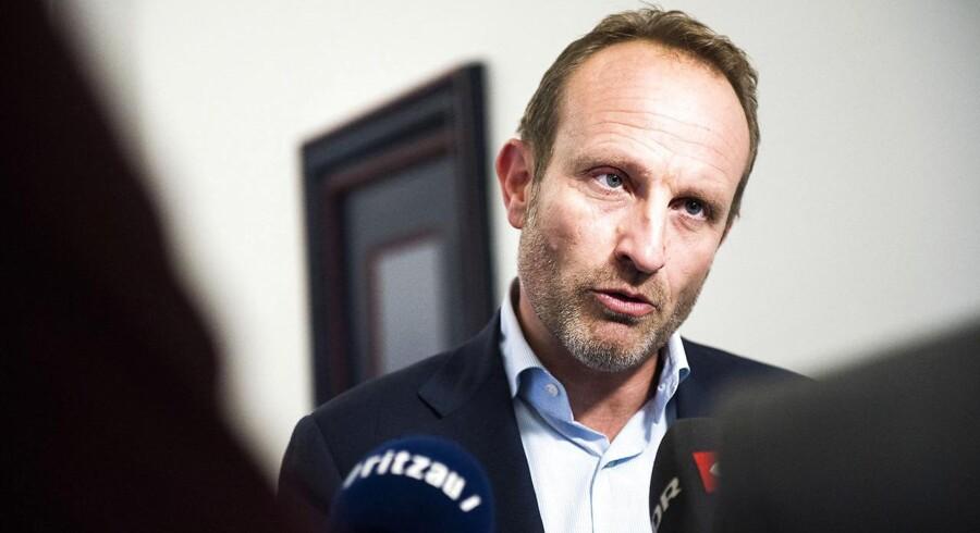 Radikale Venstres finansordfører Martin Lidegaard.