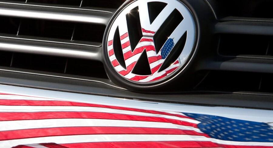 Arkivfoto: Volkswagen i USA.