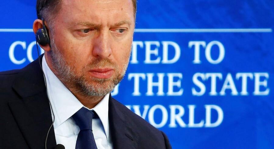 Arkivfoto. Oleg Deripaskas selskaber straffes, efter at USA har indført sanktioner mod oligarker tæt på præsident Putin.
