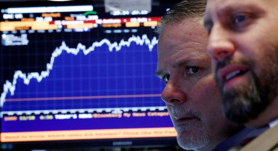 Arkivfoto. Stigningerne fortsætter på det amerikanske aktiemarked og dermed er aktierne også fortsat i rekordterritorium.