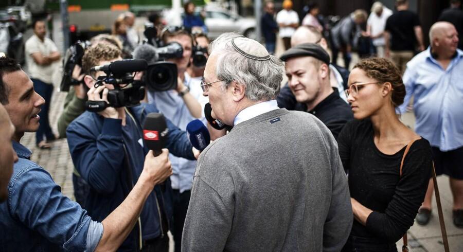 Der har været stor presseopmærksomhed om den israelske nazijæger Efraim Zuroff.