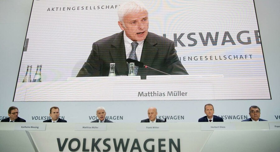 Matthias Mueller, CEO for Volkswagen